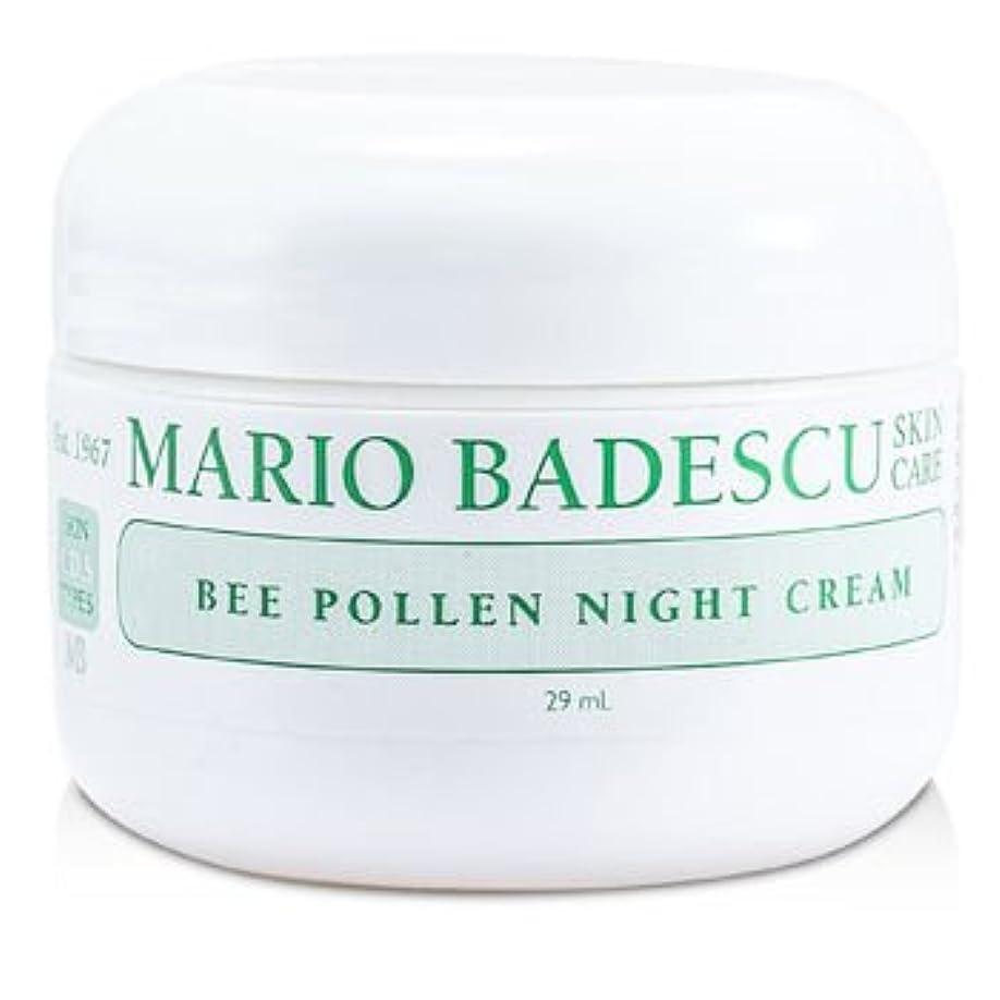 戸口医薬品すすり泣き[Mario Badescu] Bee Pollen Night Cream 29ml/1oz
