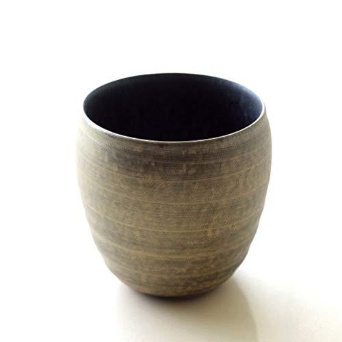 焼酎グラス陶器有田焼焼酎カップ焼き物日本製晶雲母金ロックカップ[msg3038]