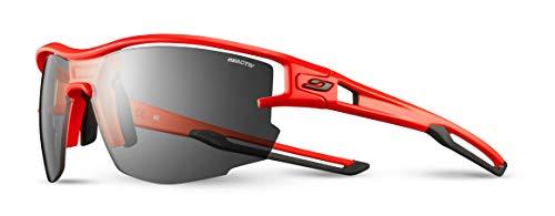 Julbo Aero - Gafas de sol para hombre, color naranja neón y negro, FR: L (talla fabricante: L)