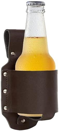 Funda de cerveza, funda portátil de PU, soporte de cerveza de pistola, accesorios de cerveza, barbacoa botella de picnic puede bebidas titular accesorios