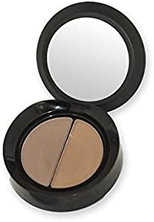 Damone Roberts Latte Eyebrow Powder Duo By Hollywood's Eyebrow King- Long Lasting, Highly Pigmented Brow Powder For Perfectly Shaped Brows - Natural Colors, Cruelty Free Formula- Light Brown