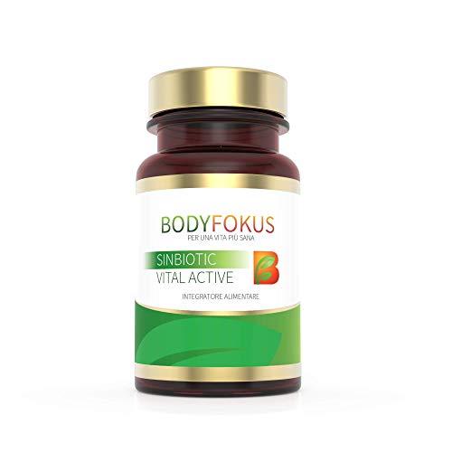 BodyFokus SinBiotic Vital Active - Un alleato prezioso per il vostro intestino - 1 flacone