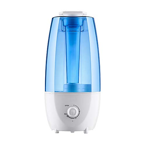 Cool Mist Humidifier Oil Diffuser Vaporizer Ultrasonic, 3L/0.8 Gal for Bedroom, Baby, Home, Office, LED Display, Timer/Sleep Mode Quite, Filter Free, Waterless Auto Off, Portable, 3 Mist Level