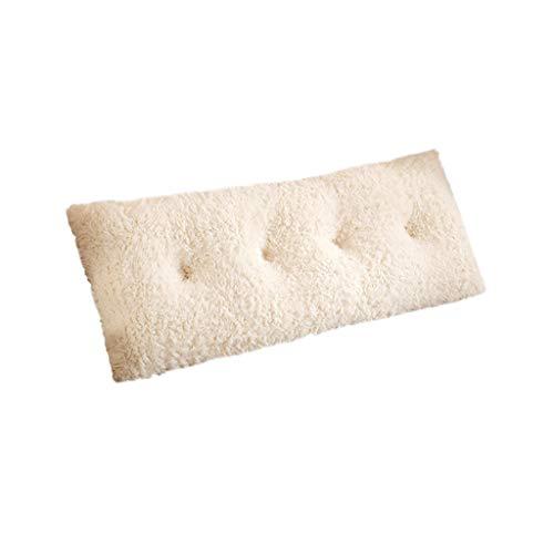 SZQ Lang hoofdkussen, kleurecht, krimpvrij, afneembaar kussen, voor slaapkamer, woonkamer, verlichting van de vermoeidheid.