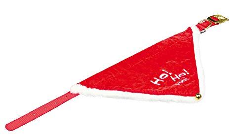 TRIXIE Xmas Halsband mit Tuch Necki, M-L: 45–55 cm/25 mm