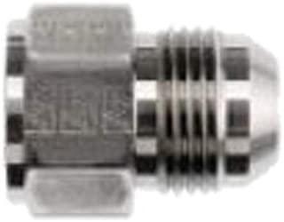 1.250 Hex 1-1//16-12 SAE x 7//8-14 SAE Thread 1.660 Length 3//4 Female JIC x 5//8 Male JIC Brennan Industries 2406-12-10 Steel Non-Swivel Straight Reducer