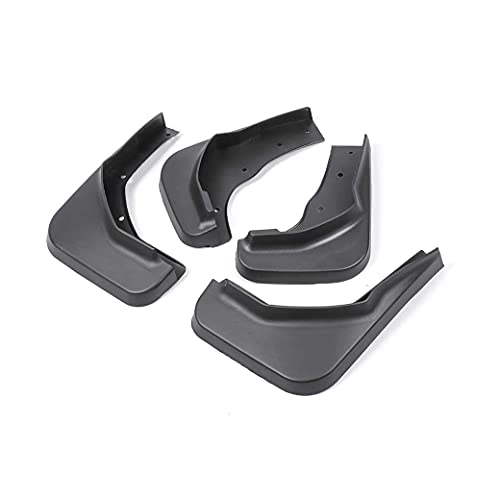 Faldillas Antibarro Compatible con VW Sharan/Seat/Alhambra 7N 2011-2018, Guardabarros para Coche, Guardabarros de Goma Delantero Y Trasero, Guardabarros de Rueda de Coche Duradero