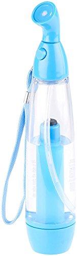 PEARL Wasserzerstäuber: Pumpdruck-Wasser-Zerstäuber zur Abkühlung an warmen Tagen, 75 ml (Wasserzerstäuber Pumpe)