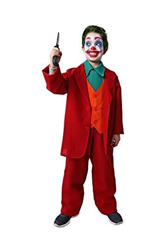 Costumizate! Disfraz de Payaso Asesino para niños Adulta talla10 a 12 años Halloween
