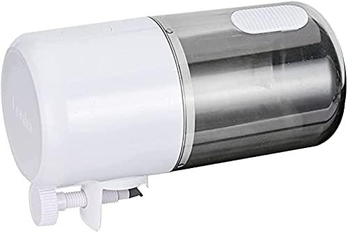 Insputer Alimentador automatico acuario,360 ML Dispensador Comida Peces Comedero Peces Automatico Acuario para tortugas para viajes de negocios y vacaciones a Prueba de Humedad