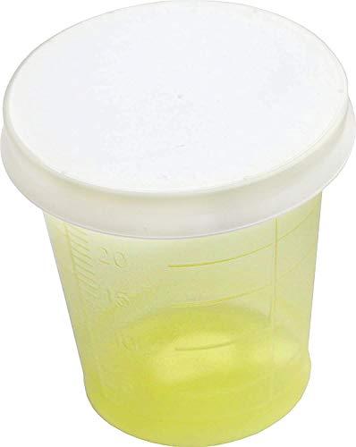 80 Piezas Vaso de medicación + 80 Tapa Tazas de medicina Medi-Inn Color: amarillo de Medi-Inn