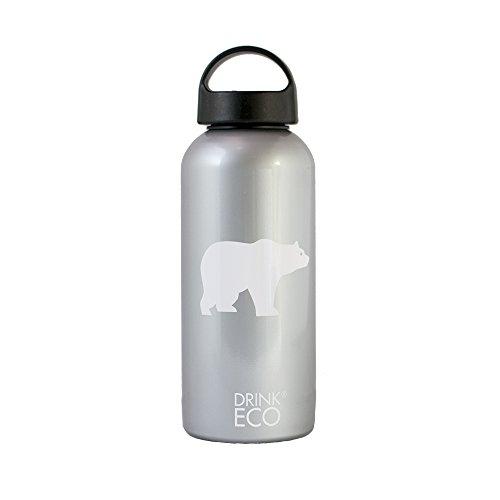 Alusport Bottles Drink Eco Polar Bouteille Sport Unisexe Adulte, Gris, L