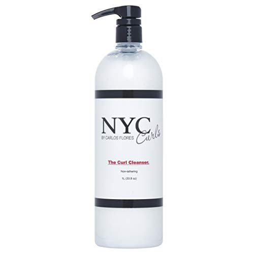 NYC Curls The Curl Cleanser. (1 liter / 33.8 oz)