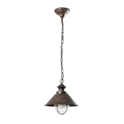 FARO BARCELONA 71138 NÁUTICA-1P Lampe Suspension Rouille
