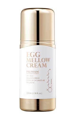 [Too Cool for School] Egg Mellow Cream Premium [24K Gold Collagen Cream], 3.38 fl. oz.