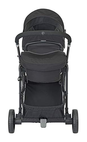 Graco Transform 2-in-1 Pushchair/Stroller (Birth to 4 Years Approx, 0-22 kg), Converts from Pramette to Pushchair, Black Graco Suitable from birth to approx. 4 years (22kg) Convertible pramette to pushchair in a flash. includes a comfy soft new-born liner for the first journey Click connect travel system compatible with graco snug ride/snug essentials i-size infant car seats 11