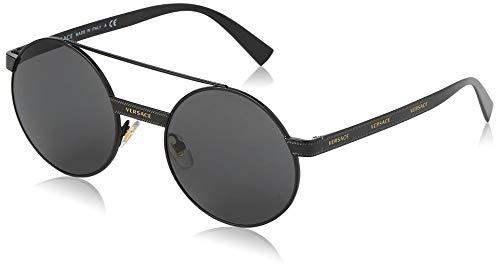 Versace 0VE2210 Gafas de sol, Black, 52 para Mujer