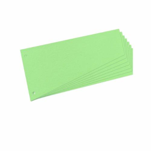 Preisvergleich Produktbild Herlitz 10838225 Trennstreifen Trapez 120x230 mm,  Inh.100