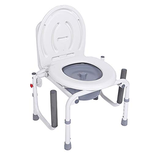 Silla Plegable Silla de Ducha | Silla de baño Silla WC Inodoro...
