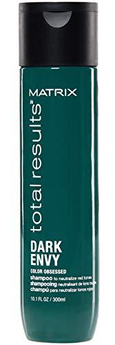 Matrix Champú Dark Envy neutralizador de cabellos morenos, 300 ml