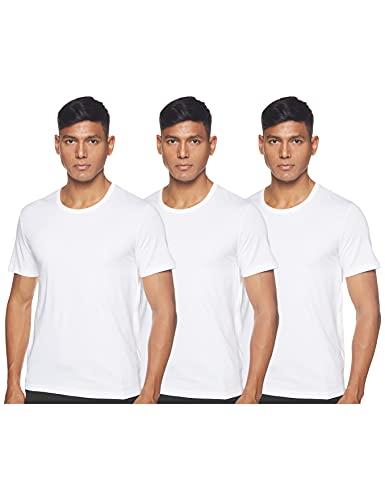 BOSS T-Shirt RN 3p Co Camiseta para Hombre, Blanco (White 100), Medium, pack de 3