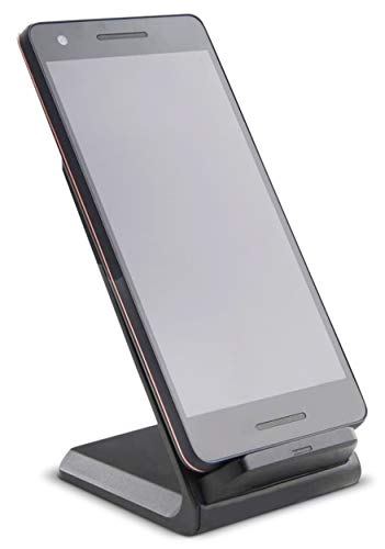 Aminori Goodmans Wireless Charging Phone Stand 10W/7.5W Qi Fast Charging Phone Holder for Worktop, Office, Home, for iPhone 11 Series/X/XR, Galaxy S20 Series/Note10/S10, etc