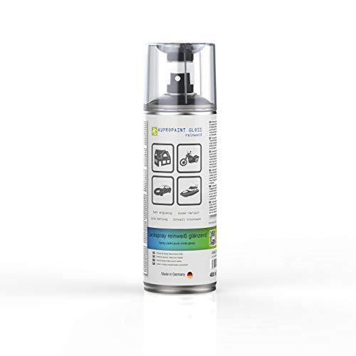 AUPROTEC Lackspray AUPROPAINT Gloss weiß glänzend Sprühlack Glanzlack Auto Lack Spray 1x 400ml