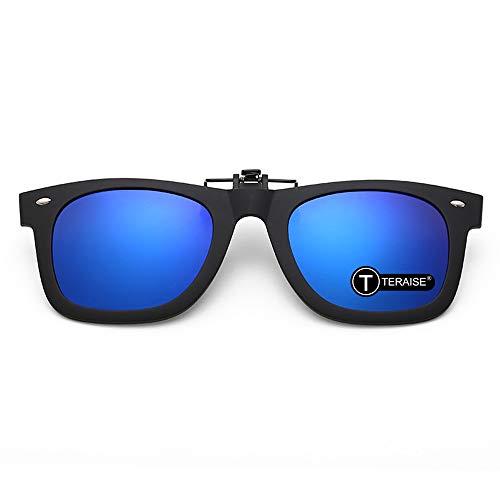 TERAISE Polarisierte Clip-On-Sonnenbrille mit Flip-Up Funktion,Geeignet zum Fahren Angeln Outdoor-Sport