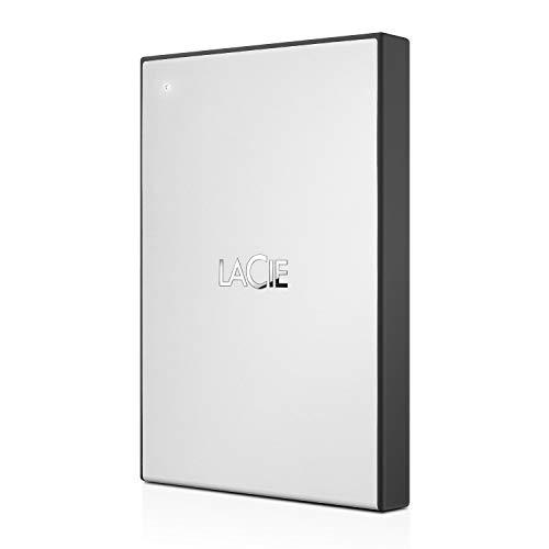 LaCie Drive STHY2000800, Disco Duro Externo Portátil de 2.5 Pulgadas, USB  3.0, 2 TB, para Mac, PC, Xbox One y Playstation 4