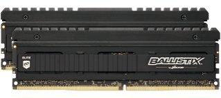 Ballistix Elite 8GB Kit (4GBx2) DDR4 2666 MT/s (PC4-21300) DIMM 288-Pin Memory - BLE2K4G4D26AFEA