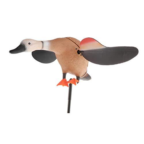 LoveinDIY Outdoors Electric Duck Decoy, Duck Motion Decoys, Mallard Feeder Decoy, Creative Motion Spinning Wing Mallard Duck Decoys