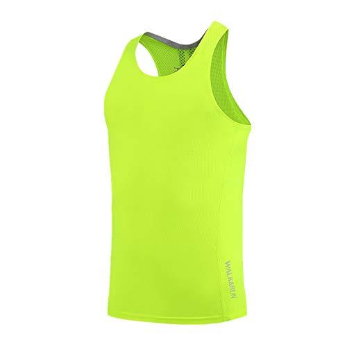 Camiseta de Compresión para Hombre Sin Mangas, Morbuy Deportiva Manga Corta Secado Rápido Ropa Transpirable T-Shirts para Running Fitness Entrenamiento Yoga