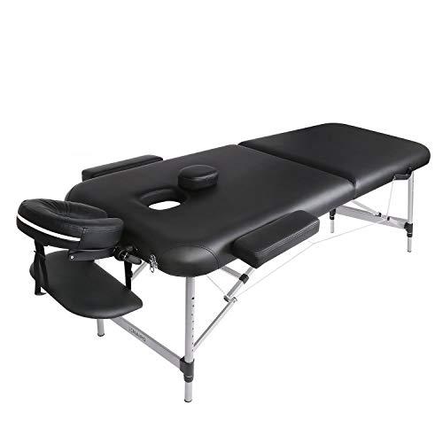 Naipo Table de Massage Cosmétique Lit de Massage Kiné...