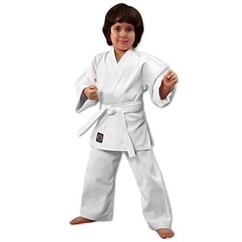 ProForce 6oz Student Karate Gi / Uniform - White - Size 1