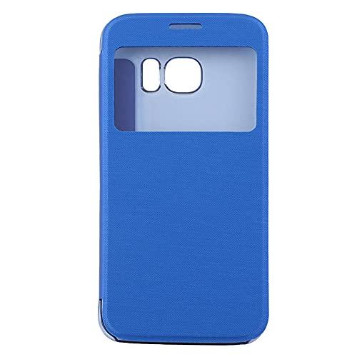 healthwen Custodia Protettiva Ultra Sottile per telefoni cellulari Luruxy Smart Flip Cover Posteriore Rigida per iPhone per Samsung
