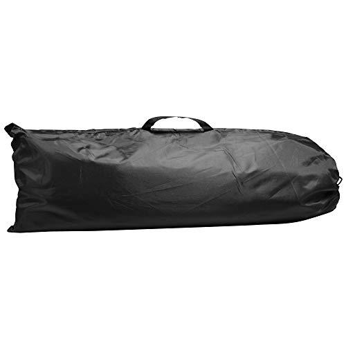 Longridge Unisex's Deluxe Golf Practice Net, Black, One Size