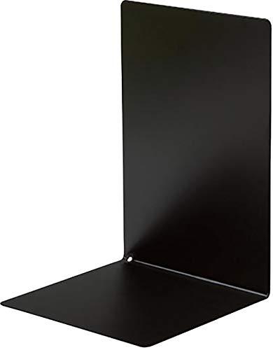 ソニック ブックエンド マグネット付 L型 大 1枚 黒 DA-4207-D