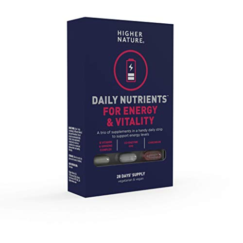 Higher Nature Daily Nutrients for Energy & Vitality - 28 Day Supply