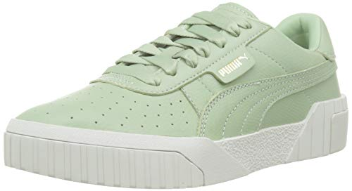 PUMA Damen Cali Emboss WN's' Sneaker, Grün (Smoke Green-Smoke Green), 39 EU