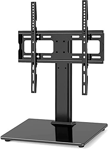 YYAI-HHJU Soporte para TV De Mesa Base Giratoria para Soporte De TV para 26-55 Pulgadas/Led // Plasma con Soporte Gestión De Cables Máx. (Color: Negro)