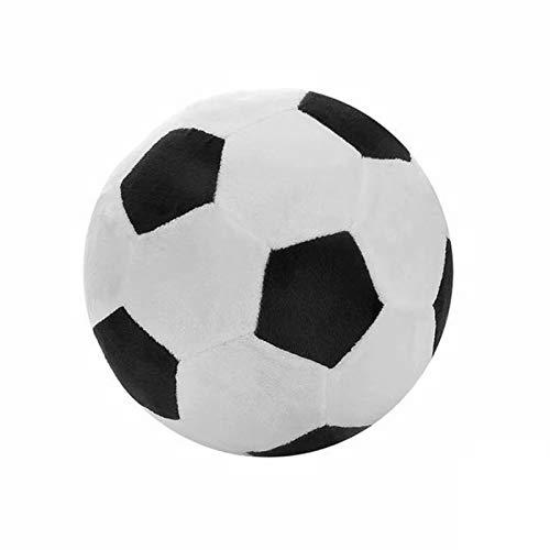 Domeilleur - Cuscino da calcio per bambini, 22 cm, grande, motivo: pallone da calcio