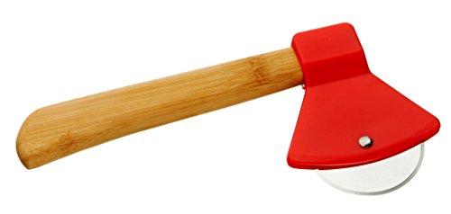 Pizzaschneider Axt rot