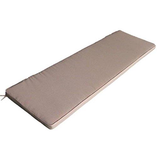 Cuscino imbottito tortora sfoderabile impermeabile esterno Real 150 CU805707
