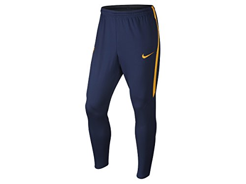 Pantalon Entraînement Tech FC Barcelone Bleu/Jaune M
