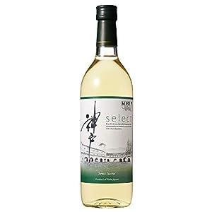 セレクト・白(やや甘口) [ 白ワイン 甘口 日本 720ml ]