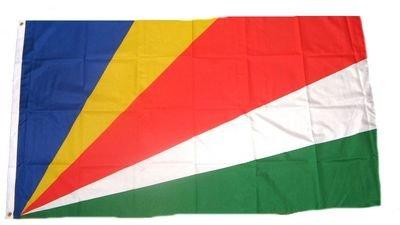 Fahne/Flagge Seychellen NEU 90 x 150 cm Flaggen