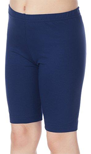 Merry Style Leggins Mallas Pantalones Cortos Ropa Deportiva Niña MS10-132 (Azul Marino, 134 cm)