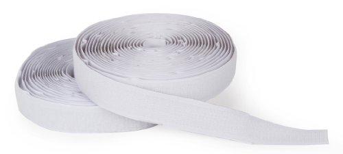 Darice 1095-55 Hook and Loop Strip, 15-Feet, White