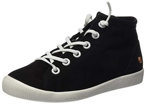 Softinos Damen ISLEEN2586SOF Hohe Sneaker, Schwarz (Black 007), 37 EU