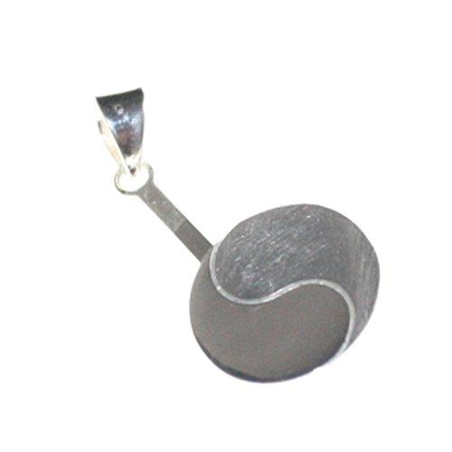 Donuthalter Yin Yang für 30 mm-Donuts, 925er Silber
